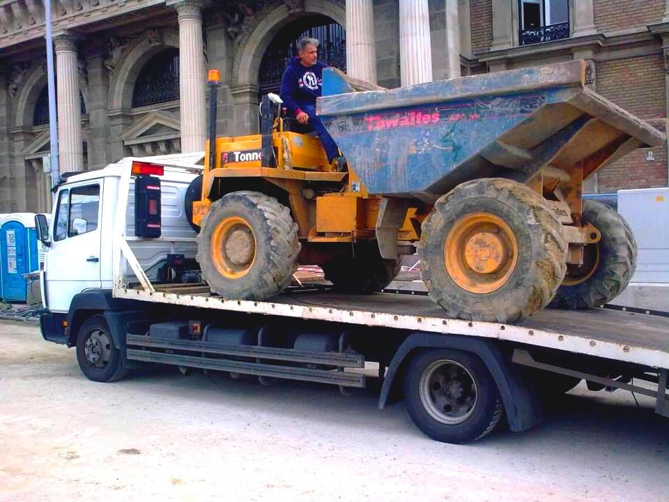munkagépszállítás