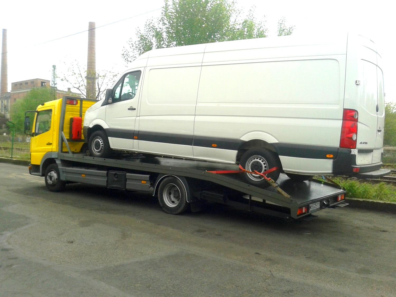 Kisteherautó mentés, szállítás