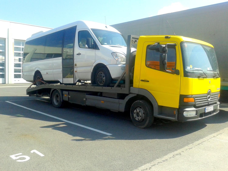 Autószállítás - Kisbusz szállítás