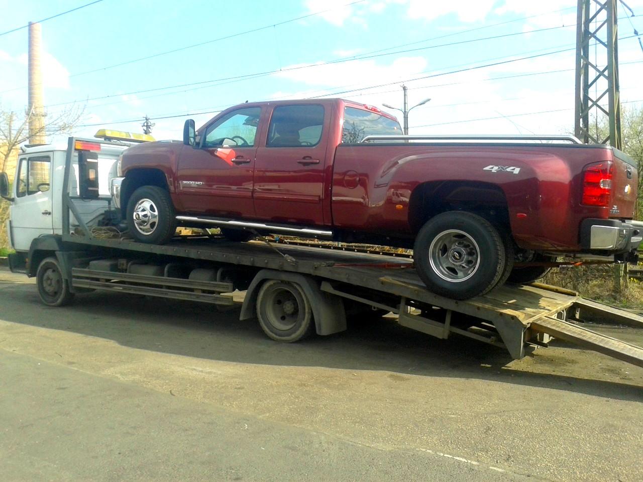 Kisteherautó - szállítás