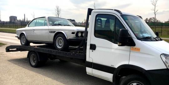 Autómentés Budapesten Budafok BMW