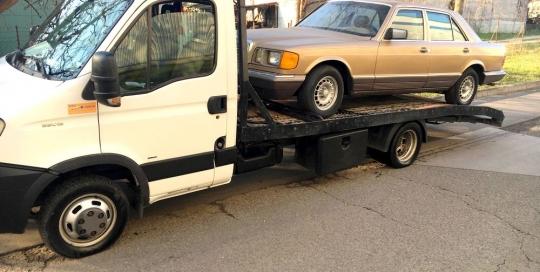 Autómentés Budapesten Budafok Mercedes