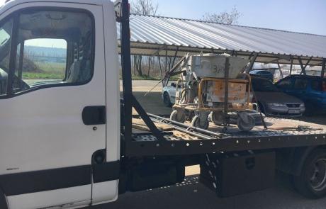 Autómentés Budapesten Budafok munkagép