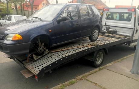 Autómentés Budapesten Budafok Suzuki