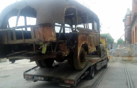 Busz szállítás